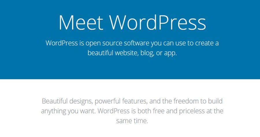 What is wordpress? is it free