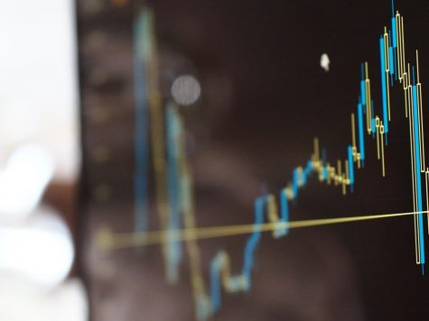 stock market chart read