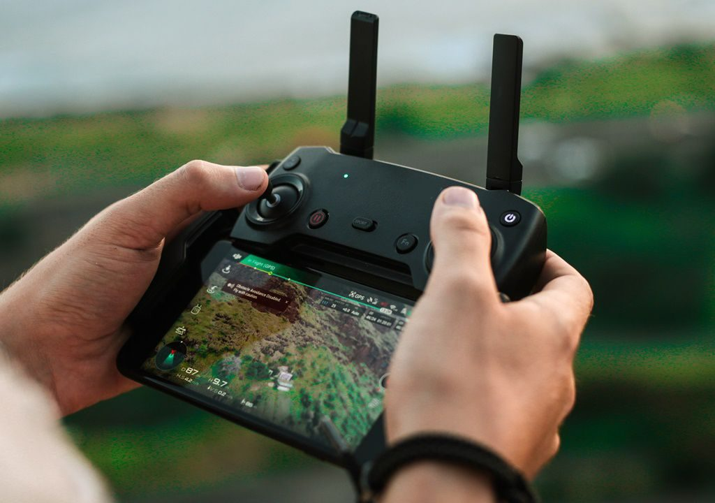 Drone mobile connector app