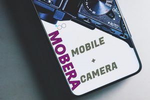 Sony mobile and mirrorless camera mobera
